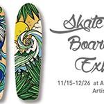 初冬にアロハな風をお届け!TAMOによるSkate & Surf Board Paint 展示が ALOHA TABLE 湘南にて開催