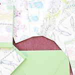 10月のプレゼントキャンペーン!!Lauren Roth Art「レターセット」を抽選で3名様にプレゼント!